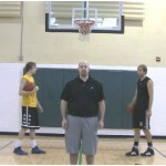 Partner Tennis Ball Toss Crossover Drill