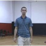 Quick Feet 2 Ball Behind the Back Basketball Dribbling Drill