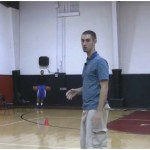 Quick Feet 2 Ball In and Out Reverse Between the Legs Basketball Drill