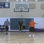 1 on 1 Help Side Recovery Drill