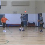 1 on 1 Plug Closeout Drill