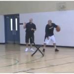 Ball Screen Defender Goes Under Shot