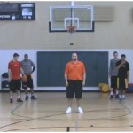 2 on 2 Wing Closeout Drill