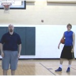 3 Dribble Partner Tennis Ball Toss Behind the Back