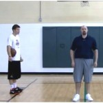 3 Dribble Partner Toss Reverse Between the Legs