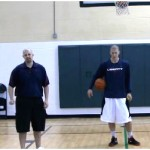 Behind the Back Crossover Toss Tennis Ball Drill