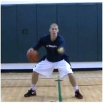 Between the Legs Crossover Toss Tennis Ball Drill