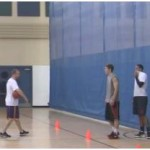 Defensive Slide to Offensive Transition Drill