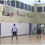 Mid Range Curl Shooting Drill