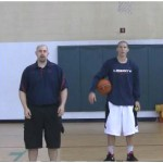 Reverse Between the Legs Crossover Toss Tennis Ball Drill