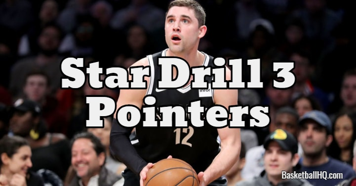 Star Drill 3 Pointers