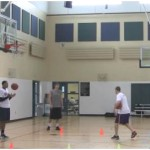 Touch Shots Curl Shooting Drill