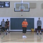 1 on 1 Chairs Wing Closeout Drill