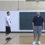 3 Dribble Partner tennis Ball Toss Rhythm Drill