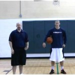 Double Reverse Between the Legs Toss Tennis Ball Drill