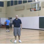 Mid Range Freeze Fake Partner Shooting Drill