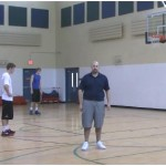 Mid Range On the Move Bad Pass Partner Shooting Drill