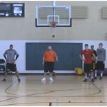 1 on 1 Wing Closeout Drill