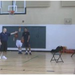 5 Point Straight Cut Shooting Drill