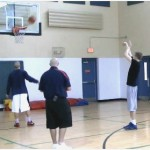 On the Move Mid Range Freeze Fake Shooting Drill