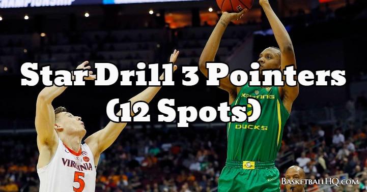 Star Drill 3 Pointers (12 Spots)