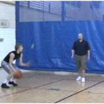 Toss Double Rhythm Tennis Ball Drill