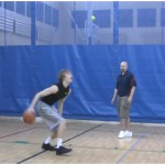3 Dribble Toss Double Behind the Back