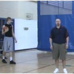3 Dribble Toss Double Between the Legs