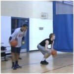 3 Dribble Toss Double Reverse Between the Legs