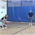 3 Dribble Toss Double Rhythm Drill