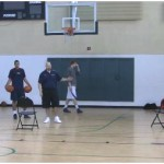 5 Point Curl Shooting Drill