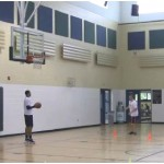 Curl Quick Attack Basketball Finish Drill
