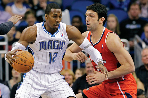Dwight Howard, Zaza Pachulia