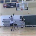 Number Drill Tennis Ball Toss One Move 15 Point Finish