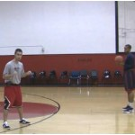 Read and React Pound 2 Basketball Drill