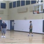 Backpedal Shot Fake 1 Dribble Pull Up Shooting Drill