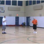 Game Situation Pick and Pop Shooting Drill
