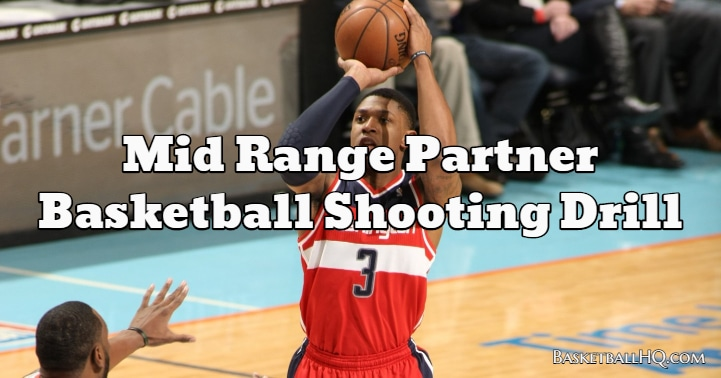 Mid Range Partner Basketball Shooting Drill