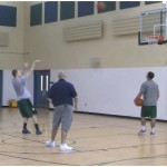 Movement Sweep 1 Dribble Shooting Drill