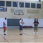 Peer Pressure Partner Shooting Drill