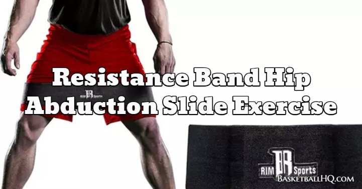Resistance Band Hip Abduction Slide Exercise