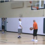 Game Situation Post Skip Pass Shooting Drill