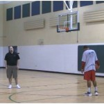 Mid Range Jab Step Shot Partner Shooting Drill