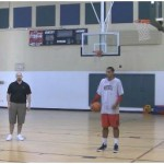 Post Defense Lane Line Slides Shot Fake Reverse Finish Rebounding Drill