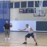 Post Defense Lane Slides Shot Fake Finish Rebounding Drill