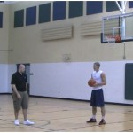 Reverse Reaction Double Shot Fake Finish Rebounding Drill