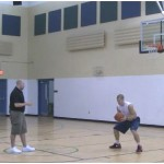 Reverse Reaction Quick Finish Rebounding Drill