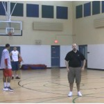 Sweep 1 Dribble Pull Up Partner Shooting Drill