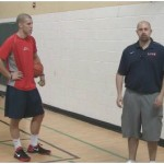 Wall Tennis Ball Pound Dribbling Drill
