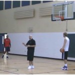 Beat the Pro Mid Range Shooting Drill